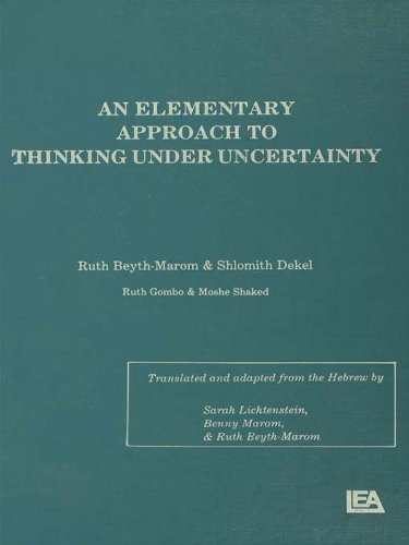 Download An Elementary Approach To Thinking Under Uncertainty Pdf