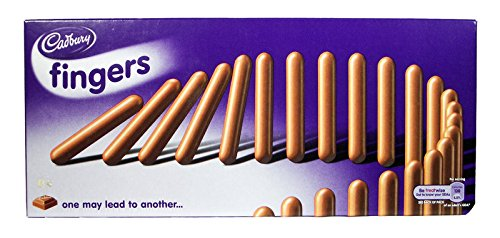 - Cadbury Milk Chocolate Fingers 125 Gram - Pack of 6