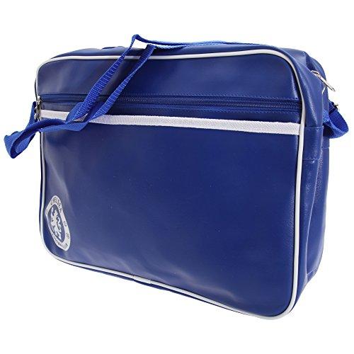Chelsea FC Fútbol Escudo Bandolera Messenger Bag multicolor