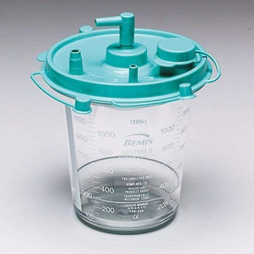 Bemis Healthcare 484410 Bemis Healthcare Quality Medical Products 1200CC Hi-Flow Canister - Product Number : #484410