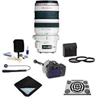 Canon EF 28-300mm f/3.5-5.6L IS USM AF Lens, USA - Bundle with 77mm Filter Kit, DSLR Follow Focus & Rack Focus, Lens Wrap, LensAlign MkII Focus Calibration System, Lens Cap Leash, Lens Cleaning Kit