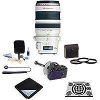 Canon EF 28-300mm f/3.5-5.6L IS USM AF Lens, USA - Bundle with 77mm Filter Kit, DSLR Follow Focus & Rack Focus, Lens Wrap, LensAlign MkII Focus Calibration System, Lens Cap Leash, Lens Cleaning Kit