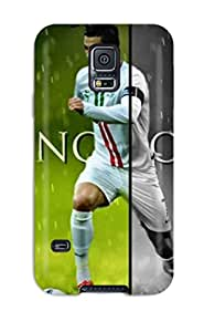 Slim Fit Tpu Protector Shock Absorbent Bumper Soccer Cristiano Ronaldo Case For Galaxy S5