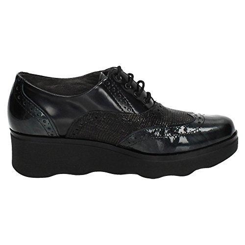 pour de lacets ville femme PITILLOS Chaussures Gris à H1ATTw