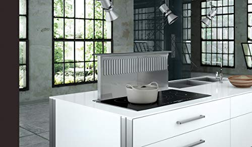 Downdraft Stainless Steel Ventilation (Faber SCIR3614SSNB-B Scirocco Plus 36 Inch Wide Downdraft Range Hood)
