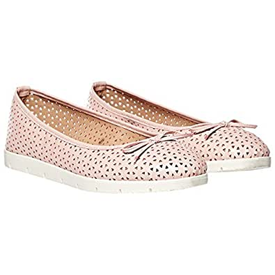 Dolcis Slip On Shoes for Women - Pink