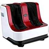 Quantico Foot & Leg Massager with heat (RED WHITE)