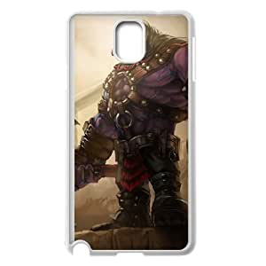Samsung Galaxy Note 3 Cell Phone Case White League of Legends Executioner Mundo PD5268644
