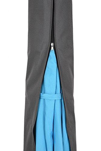 안뜰 감시원 옥외 안뜰 우산 덮개, 지퍼 시장 우산 덮개를 가진 방..