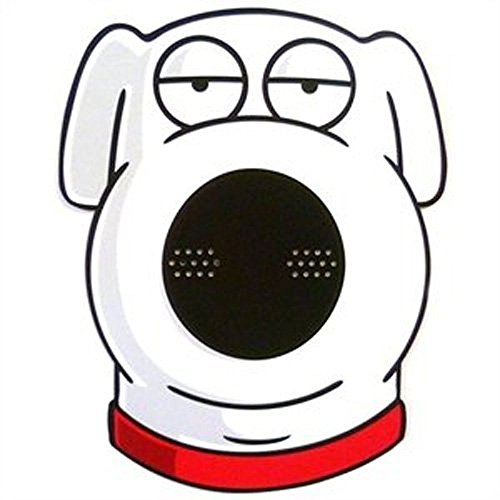 [Official Family Guy Mask - Brian] (Family Guy Masks Costumes)