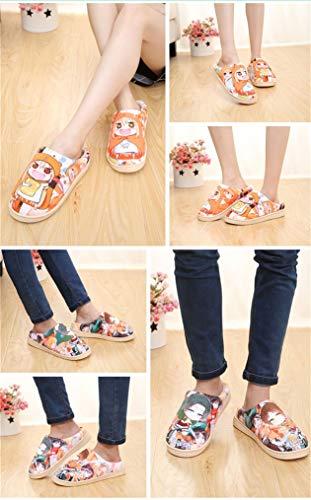 Conan Pantofole Interno Peluche Da Anime Antiscivolo Caldo Scarpe Casa Japanese Detective Cosstars Ciabatte q7OHw