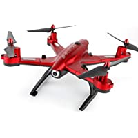 Frezone, 2.4G 6-Axis RC Quadcopter Drone Toys,Utoghter 69508 Foldable Wifi FPV Camera 4CH, Black/Red
