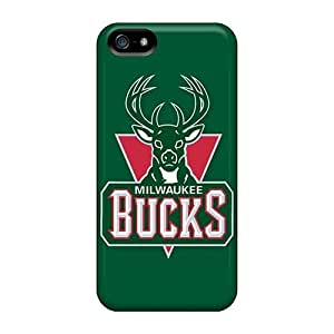 Protective PC Case With Fashion Design Case For Samsung Note 2 Cover (nba Milwaukee Bucks)