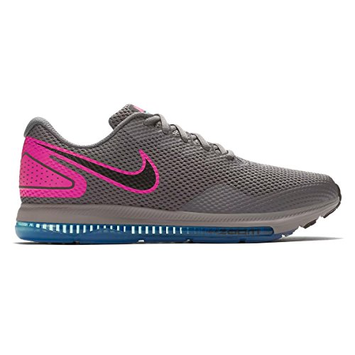 NIKE Zoom All Out Low 2 Mens Aj0035-009 Gunsmoke/Black-pink Blast cheap price for sale free shipping nicekicks discount 2015 outlet limited edition T9gRd
