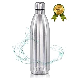 32 oz Stainless Steel Water Bottle Vacuum Insulated New Version