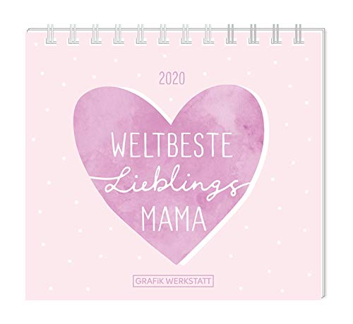 Mini Kalender 2020 'Weltbeste Lieblingsmama'