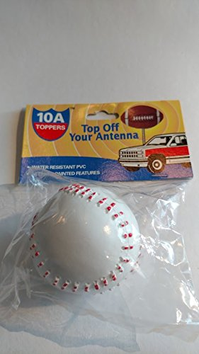 BASEBALL ANTENNA TOPPER - 1 3/4 - Spot your car from afar. STEM