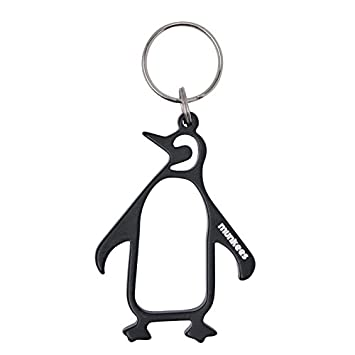 Munkees Llavero abrebotellas Pingüino, Negro, 34308: Amazon ...