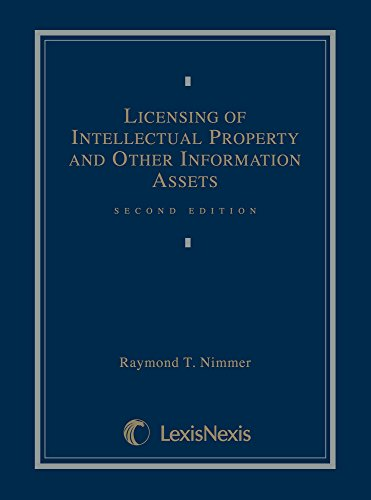 Licensing of Intellectual Property and Other Information Assets (Brand Licensing)