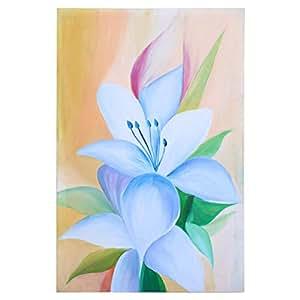 GrandUAE Canvas Multi Color Painting - Flower
