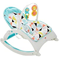 Fisher-Price Newborn-to-Toddler Portable Rocker (Geo Multicolor)