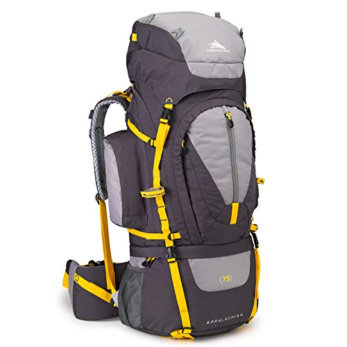 High Sierra Appalachian 75 Internal Frame Backpack, Mercury/Ash/Yell-O