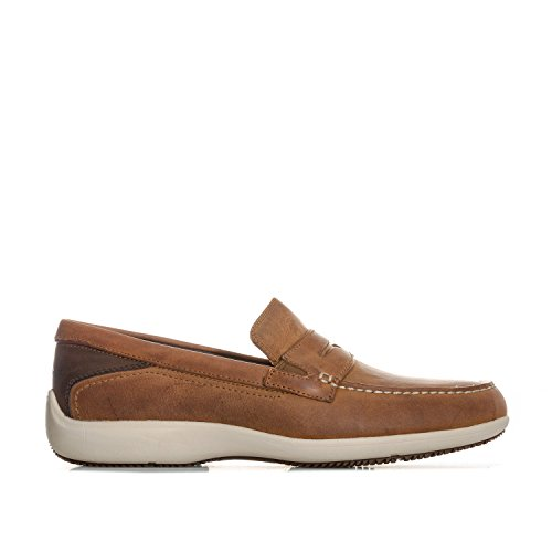 Sjokk Brown Lett Gir Trutech Menns Penny Rock Loafers Aiden I Absorption Xnx0w8nqUz