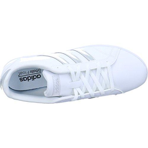 Scarpe Da Ginnastica Adidas Da Donna Vs Cono Qt W Bianco (ftwbla / Plamat / Ftwbla 000)