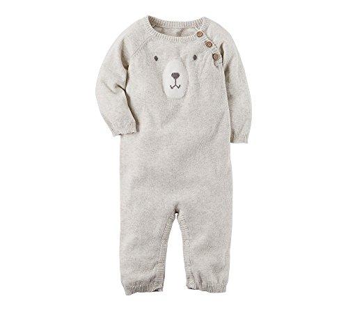 Carter's Baby Boys' Bear Sweater Jumpsuit Newborn