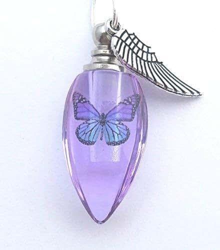 Amazon Com Handmade Cremation Jewelry Urn Bead Butterfly