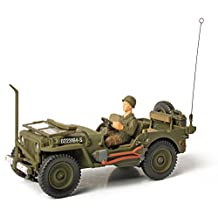 Panache Place Forces of Valor D-Day Series New Package U.S. General Purpose Normandy 1944 Jeep Vehicle, 1:32 Scale