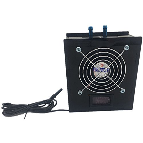 SODIAL(R) Aquarium Thermostat Chiller 70W Fish Tank Salt/Fresh Water without temperature controller