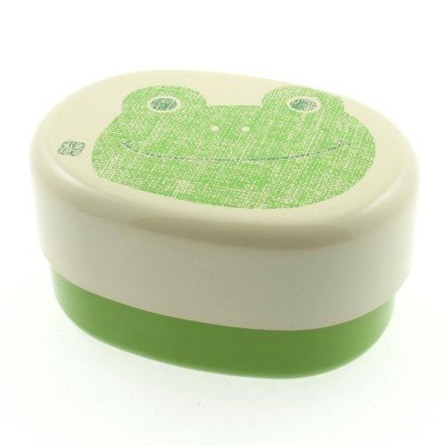 Koktobuki 2-Tiered Bento Box, Green Frog -  Kotobuki, 280-155