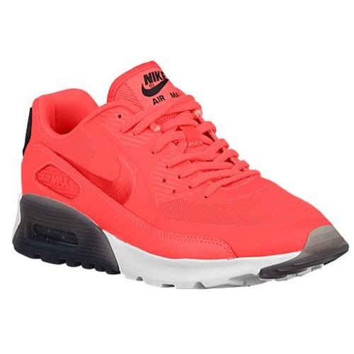 Nike Womens Air Max 90 Ultra Essential Infrared/Infrared/Black/White Running Shoe 8.5 Women US (Nike Air Max 90 Infrared For Sale)