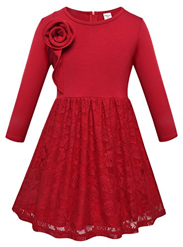Long Sleeve Girls Dress - 5