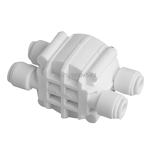 "UTP 1/4"" 4 Way Auto Shut-Off Valve Switch Water Purifier RO Reverse Osmosis System R02 Drop Ship"