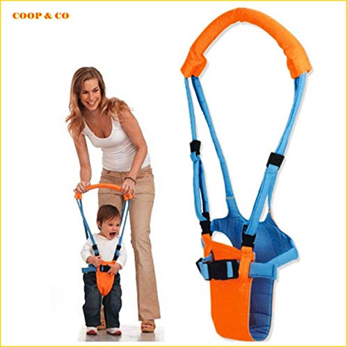 Baby Walker Toddler Walking Assistant, Learning and Stand Up Walking Helper for Baby Kids and Children Aged 0 to 2 Years of 7 to 24 Months, Adjustable 4-in-1 Activity Safety Harness