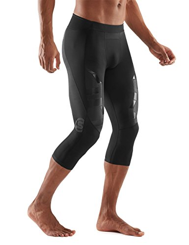 Skins Men's A400 Compression 3/4 Tights, Oblique, Small by Skins (Image #4)