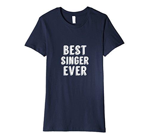 Womens Best Singer Ever 2017 Diva Sing Karaoke Funny Award T Shirt Large ()