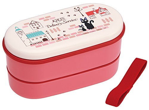 Studio Ghibli Kikis Delivery Services 2-tier Microwavable BPA Free Lunch Box