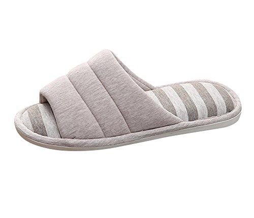 Chaussures Chaud d'hiver Derapant Anti Chaussures Hommes Pantoufles Café1 Tongs et Chaussons Femmes Plat qOBwBZtR