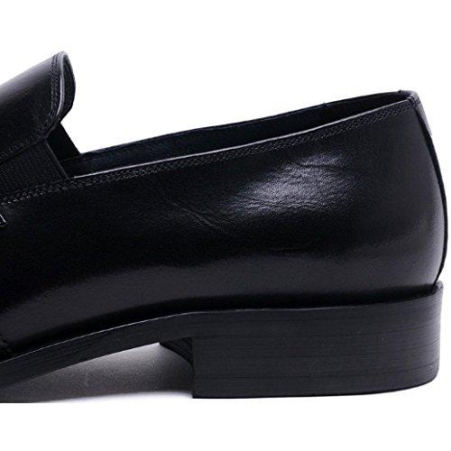 Hollow Single Winered Scarpe Pointed Escursione in Scarpe Casual Nappe Uomo Piedi da Shoes da A Moda Pelle NIUMJ Scarpe Scarpe Pigro qEBPfR
