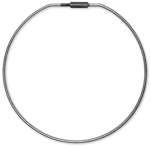 Locking Ring - Lucky Line 8 Inch Diameter Threaded Locking Key Ring, 1 Pack (7981)