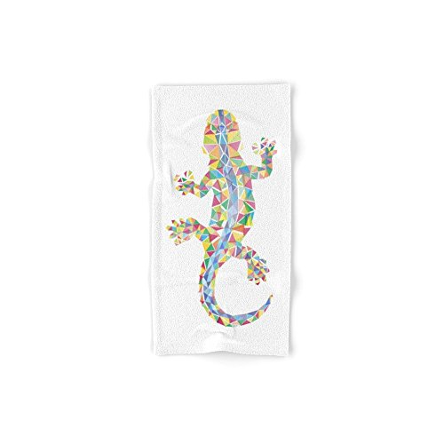 Society6 Barcelona Lizard Hand Towel 30''x15'' by Society6