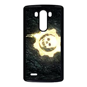 LG G3 Black phone case gears of war skull WCT4273466