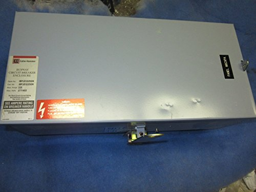 Cutler Hammer Busway - Cutler Hammer IBPJD3225GN BUSWAY CIRCUIT BREAKER ENCLOSURE 225A