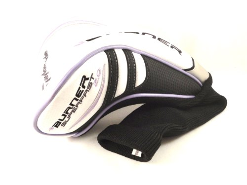 - NEW TaylorMade Ladies 460cc Driver Burner Superfast 2.0 White Sock Headcover