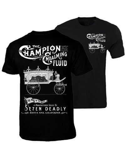 Men's Se7en Deadly Embalming Fluid T-Shirt L