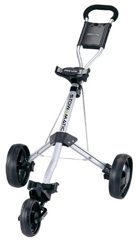 Stowamatic PRO LITE Aluminum 3 Wheel Golf Cart [Misc.] by Stowmatic