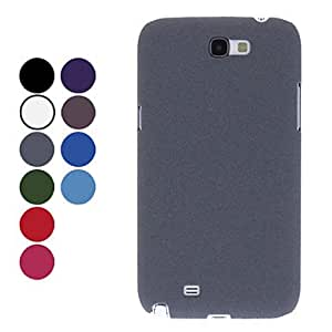 Solid Color Protective Hard Case for Samsung Galaxy Note 2 N7100 (Assorted Colors) --- COLOR:Light Blue